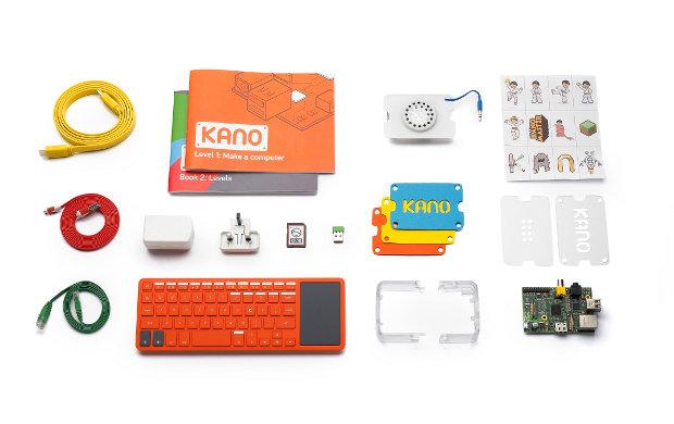 Kano kit components (Image Kano)