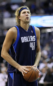 Dirk Nowitzki was elected MVP of the NBA Finals 2011