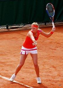 Petra Kvitova at Roland Garros 2011