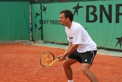 Dominik Hrbaty at Roland Garros 2006