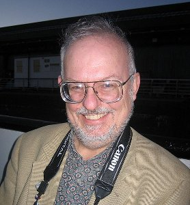 Greg Bear at the World Science Fiction Convention in Glasgow in 2005