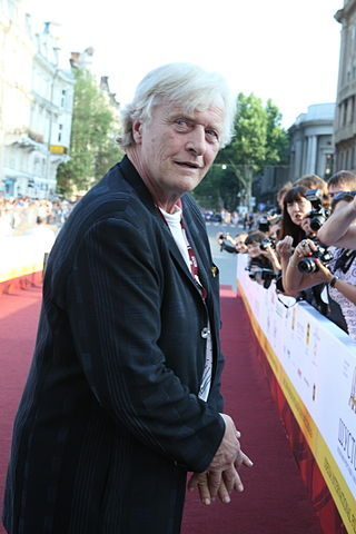 Rutger Hauer at the Odessa International Film Festival in 2010