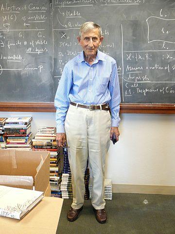 Freeman Dyson in 2007
