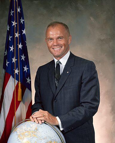 John Glenn's 1964 NASA official portrait