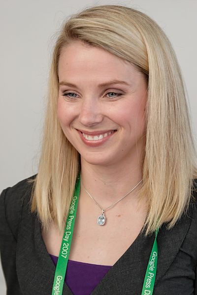Marissa Mayer in 2007