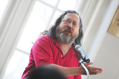 Richard Stallman at The University of Pittsburgh in 2010