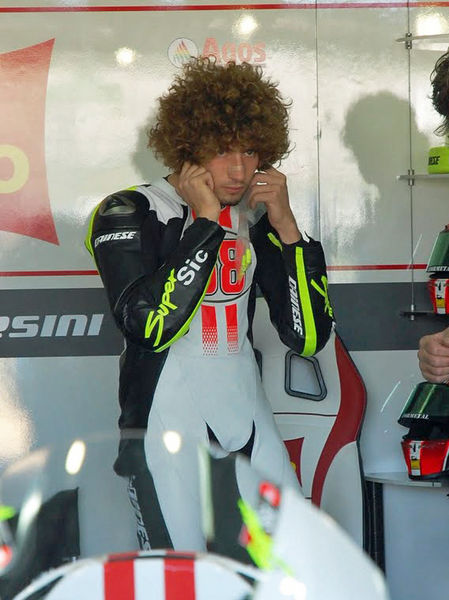 Marco Simoncelli at Valencia Grand Prix 2009