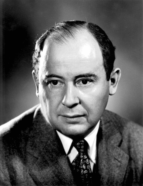 John von Neumann when he worked in Los Alamos