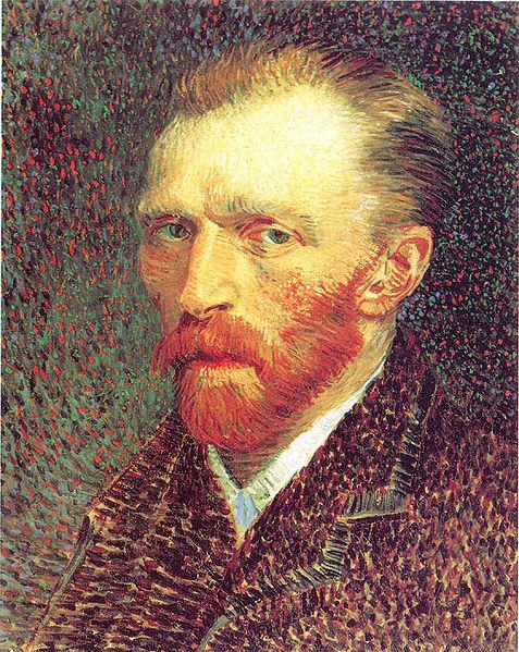 Autoritratto di Vincent Van Gogh