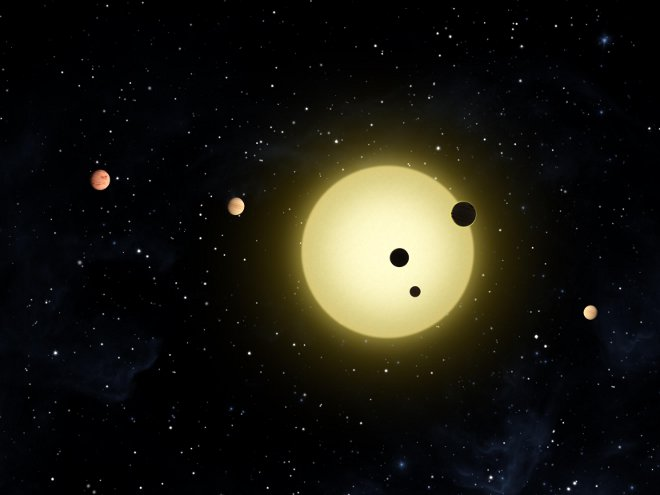 The Kepler-11 star system