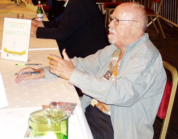 Harry Harrison at Worldcon 2005 in Glasgow