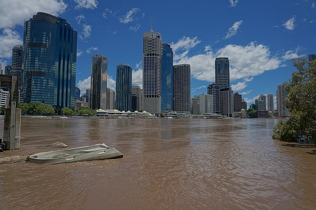 Brisbane City Flood 2013 (Photo ShepsSnaps)