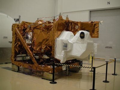 The Landsat Data Continuity Mission after a test (Photo Orbital Sciences Corporation)