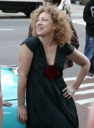 Alex Kingston in New York in 2011