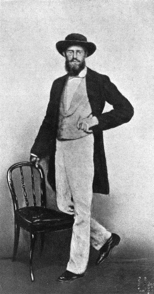 Alfred Russel Wallace in 1862