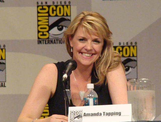 Amanda Tapping at Comic Con 2007