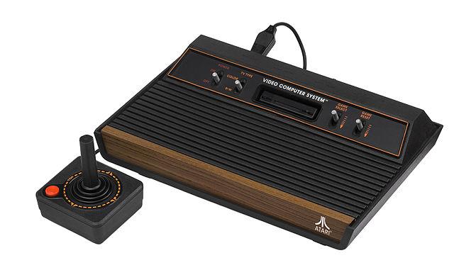 An Atari 2600 console