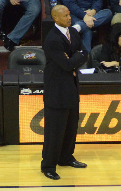 Byron Scott in 2012