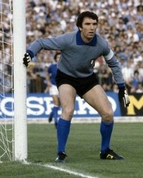 Dino Zoff in Italy - England at the football European Championship 1980