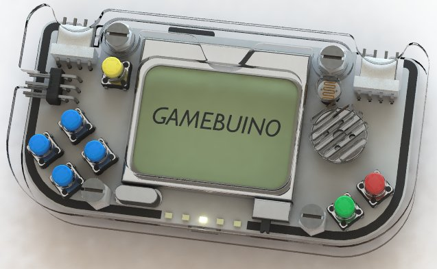 The console Gamebuino (Photo courtesy Aurélien Rodot. All rights reserved)