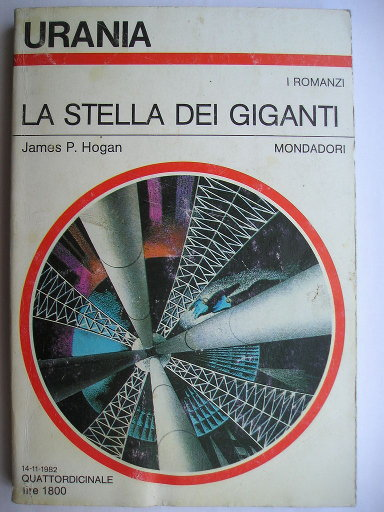 Giants' Star by James P. Hogan (Italian edition)