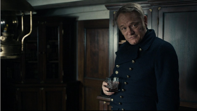 Captain Francis Crozier (Jared Harris) in Gore (Image courtesy AMC Studios / Amazon. All rights reserved)