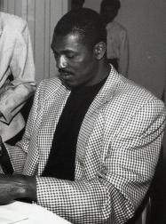 Hakeem Olajuwon (Photo Courtesy of Special Collections, University of Houston Libraries)