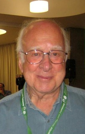 The physicist Peter Higgs in 2009