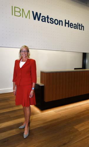 General Manager Deborah DiSanzo opens IBM Watson Health Global Headquarters (Photo courtesy IBM)