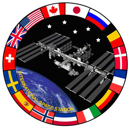 Logo of the initiative to show the benefits for humanity of the International Space Station