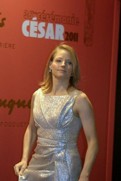 Jodie Foster in Paris at the César awards