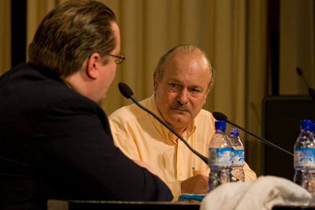 Joe Haldeman at Finncon 2007