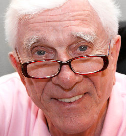 Leslie Nielsen in October 2008