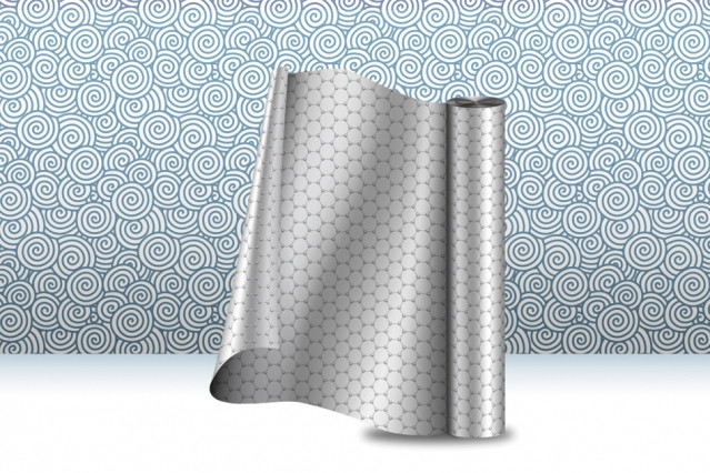 Graphene Roll (Image courtesy Christine Daniloff, MIT. All rights reserved)