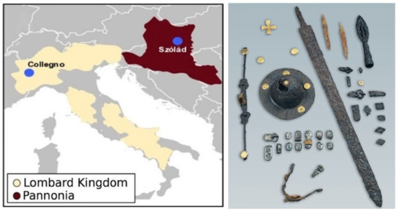 A paleogenomics research provides information on the Lombards' genetic ancestries and social structure