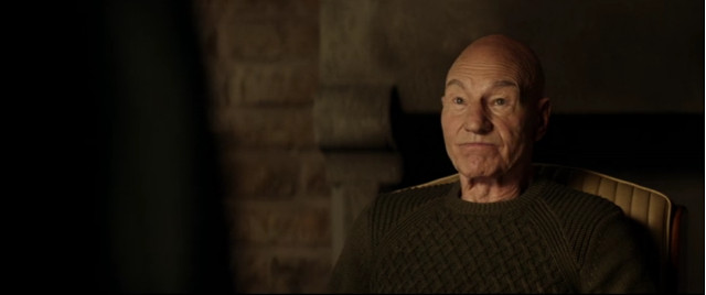 Jean-Luc Picard (Patrick Stewart) in Maps and Legends (Image courtesy CBS All Access / Amazon Prime Video)