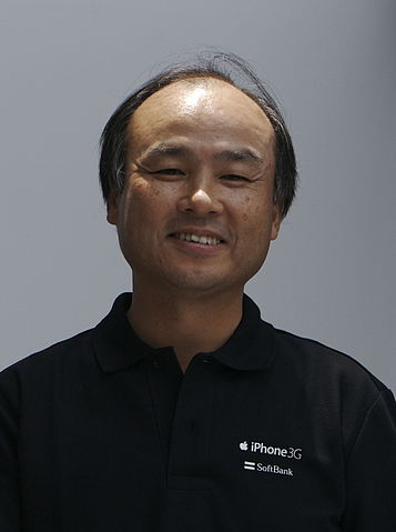 Masayoshi Son in 2008