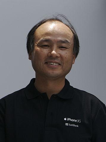 Masayoshi Son in 2008