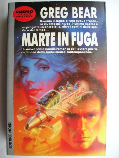 Moving Mars by Greg Bear (Italian edition)