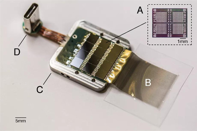 Neuralink's chip (Image courtesy Neuralink)