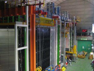 OPERA Detector at Gran Sasso (photo OPERA Experiment)