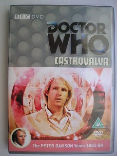 Peter Davison in Castrovalva, his debut adventure in Doctor Who
