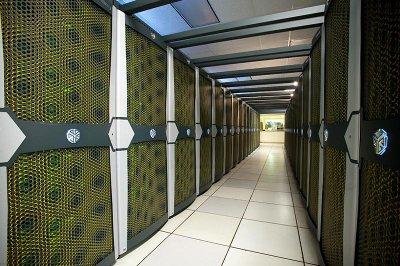 Some Pleiades supercomputer racks (photo NASA)