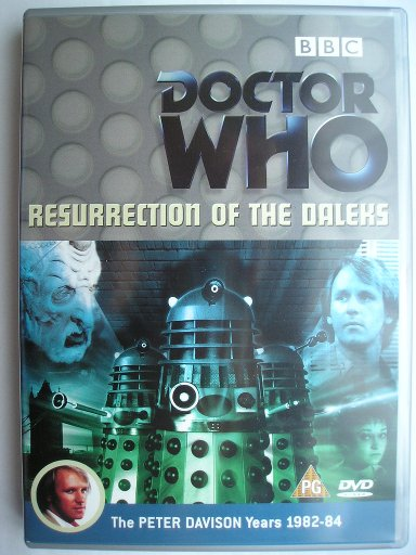 Doctor Who Resurrection Of The Daleks