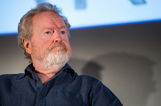 Ridley Scott in 2015 (Photo NASA/Bill Ingalls)