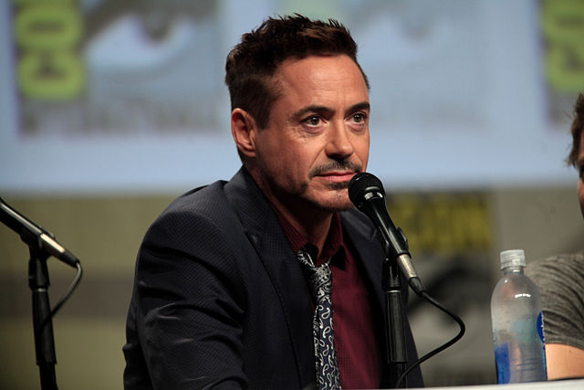 Robert Downey, Jr. at the 2014 Comic Con