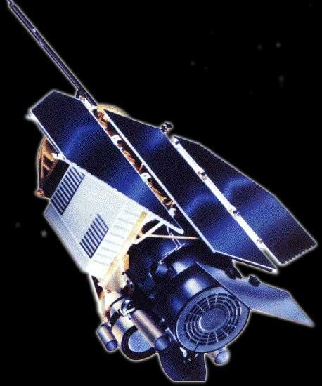 Artist's concept of ROSAT (Image NASA)
