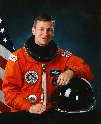 Steven Nagel's NASA official photo