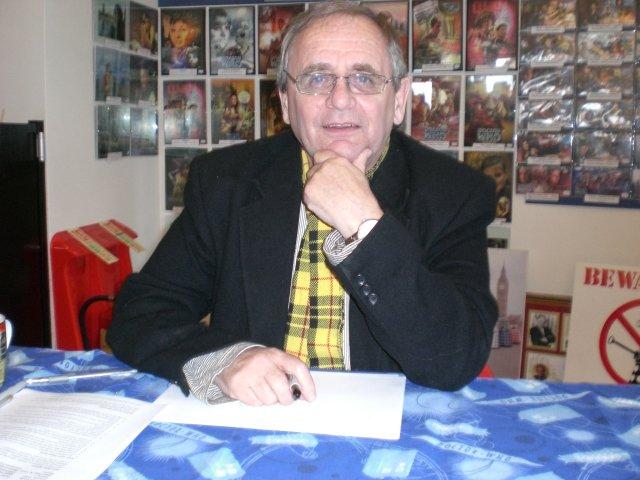 Sylvester McCoy in 2008