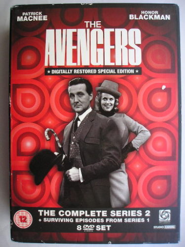 """The Avengers"" boxset containing season 2 and the surviving episodes of season 1"